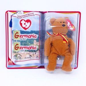 2000 TY Beanie Baby - GERMANIA the Bear